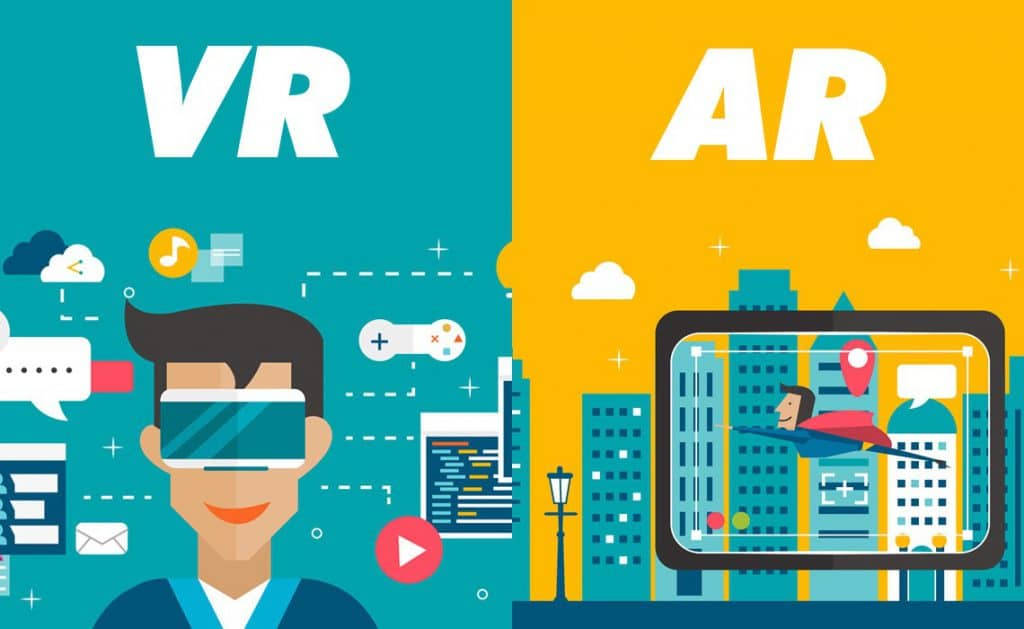 AR (Augmented Reality) vs VR (Virtual Reality)