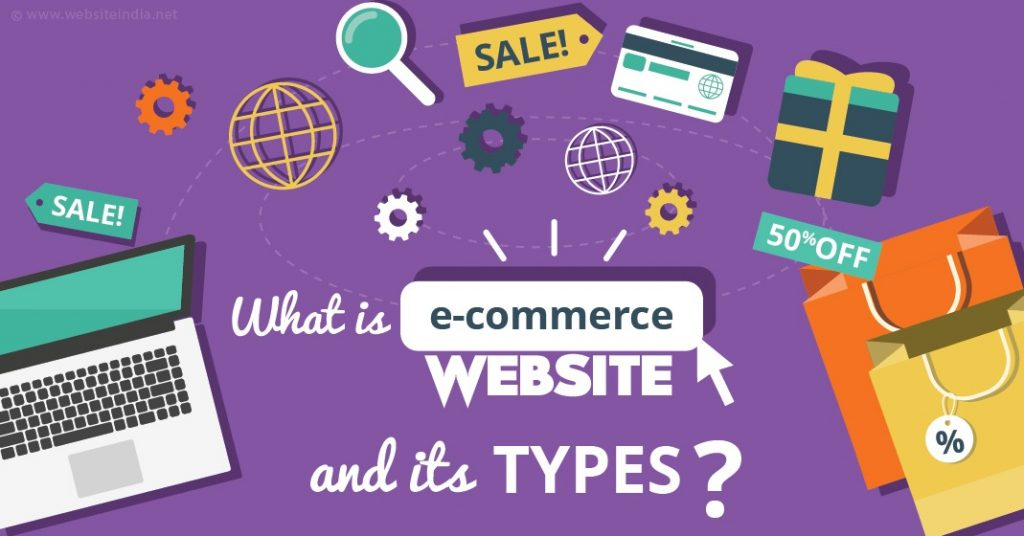 Types of online electronic stores