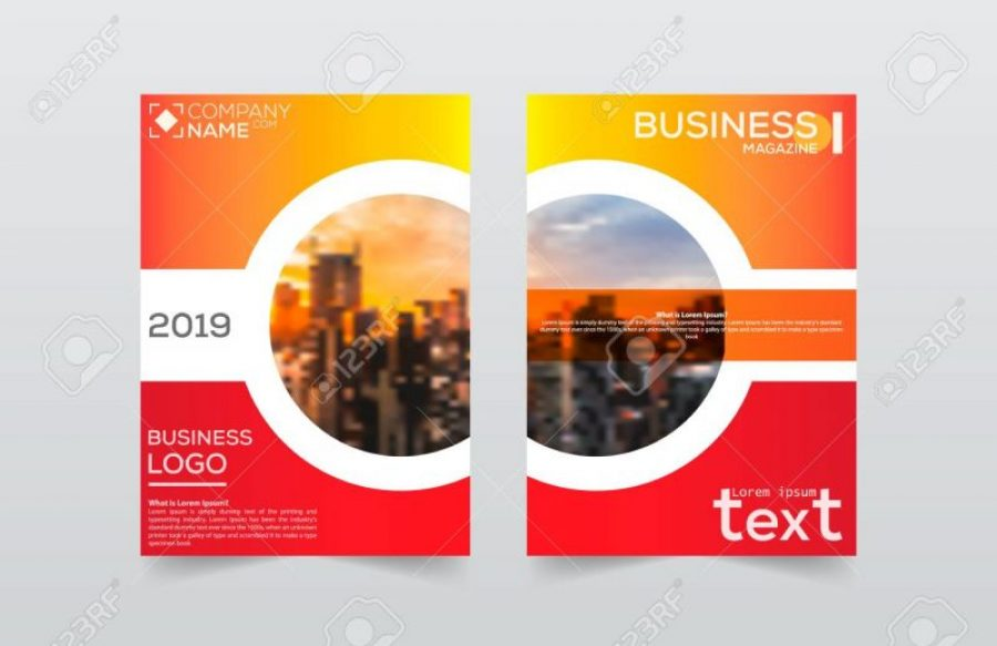 Brochure design template vector.Flayers annual report. Leaflet cover presentation. Layout . illustration. Layout, brochure, template, flayer, magazine, cover design for annual report, can use for business or your event